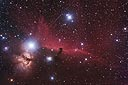 Horsehead Nebula B33 with an ASA N8 20cm f2.75 astrograph and modified Canon 350D