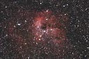 IC410 with an ASA N8 20cm f2.75 astrograph and modified Canon 350D