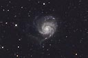 M101 with an ASA N8 20cm f2.75 astrograph and modified Canon 350D