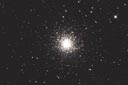 Globular cluster M13 with an ASA N8 20cm f2.75 astrograph and modified Canon 350D