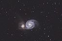 M51 with an ASA N8 20cm f2.75 astrograph and modified Canon 350D
