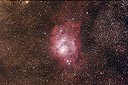 M8 Lagoon Nebula with an ASA N8 20cm f2.75 astrograph and modified Canon 350D